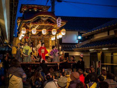 【長浜ローカルフォトアカデミー】田中仁 400年以上の歴史ある「長浜曳山祭り」。子ども歌舞伎と裏方の若衆、地元の人たちを撮影。